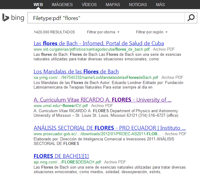 filetype bing