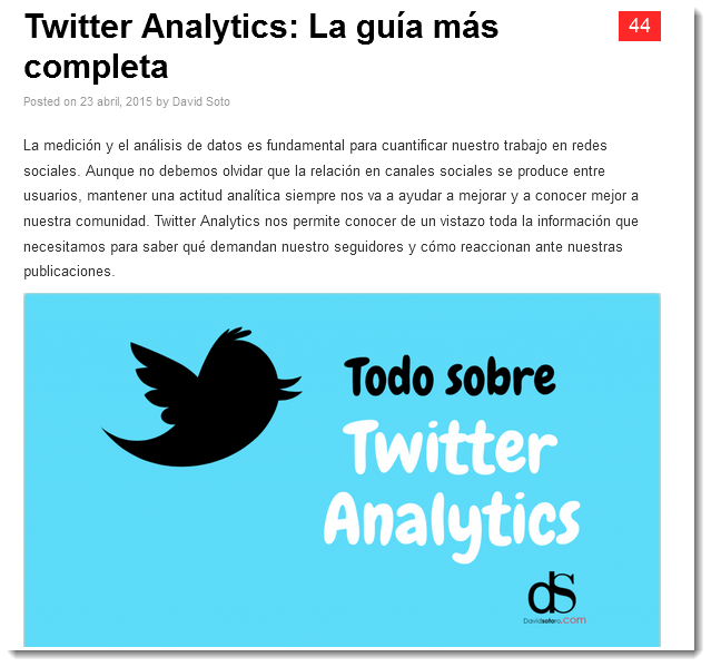 Como usar Twitter analytic