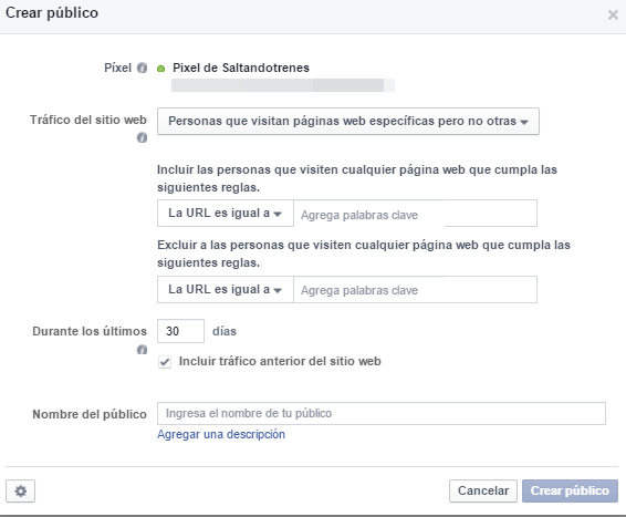 Estrategia de remarketing de Facebook