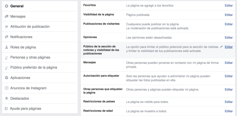 Optimización de público en Facebook