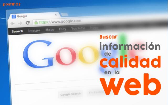 ¿encuentras todo lo que buscar en la web?
