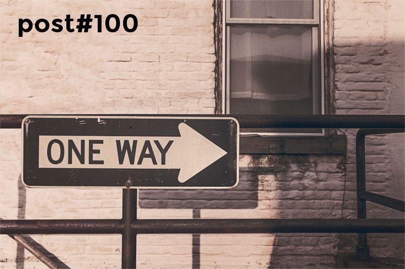 entrada número 100 de saltandotrenes